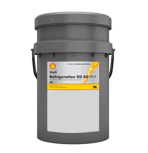 Shell Refrigeration Oil S4 FR-F 68 (20L) - oleje do sprężarek powietrza