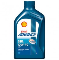 Shell Advance 4T AX7 10W-40 (1L)