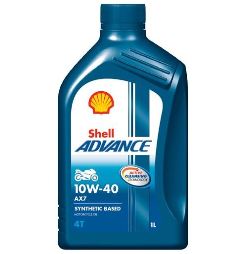 Shell Advance 4T AX7 10W-40 (1L) - motocykle