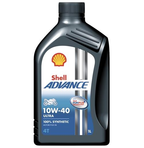 Shell Advance 4T Ultra 10W-40 (1L)
