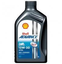 Shell Advance 4T Ultra 15W-50 (1l)