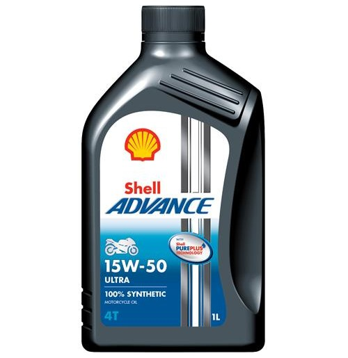 Shell Advance 4T Ultra 15W-50 (1L)