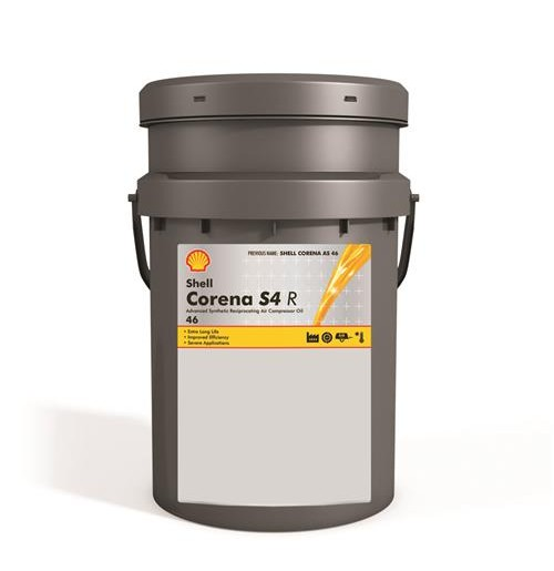 Shell Corena S4 R 46 (20L) - oleje do sprężarek powietrza
