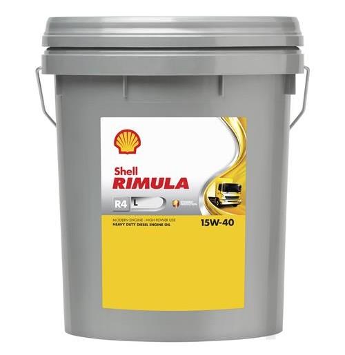 Shell Rimula R4 L 15W-40 (20L) - maszyny budowlane