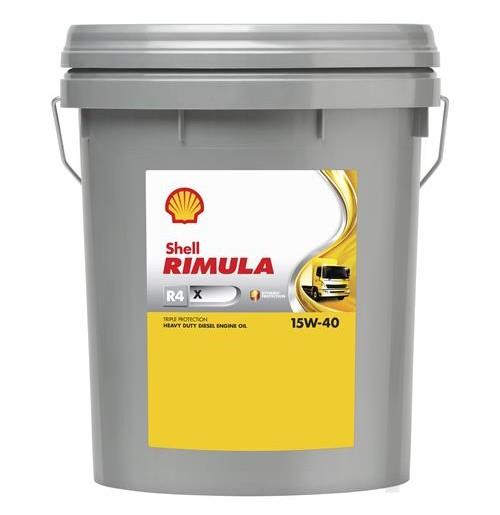Shell Rimula R4 X 15W-40 (20L) - maszyny budowlane