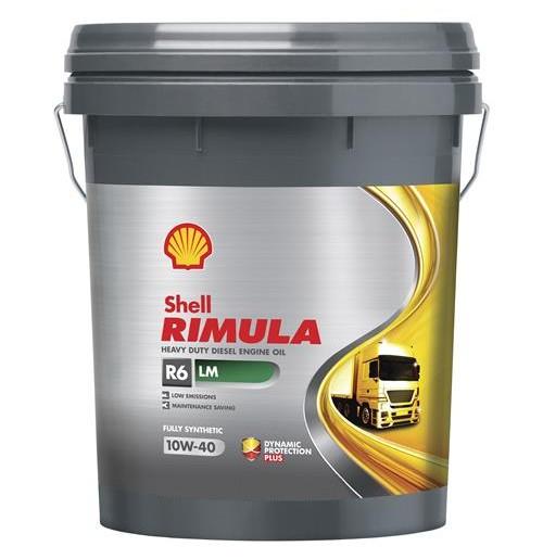 Shell Rimula R6 LM 10W-40 (20L) - maszyny budowlane