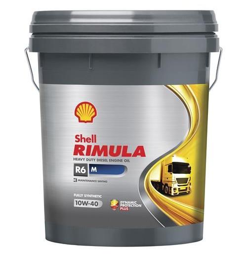 Shell Rimula R6 M 10W-40 (20L) - maszyny budowlane