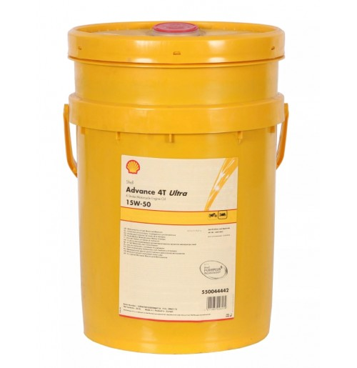 Shell Advance 4T Ultra 15W-50 (20L) - motocykle