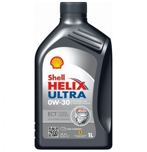 shell helix ultra ect 0w 30 1l oryginalne oleje i. Black Bedroom Furniture Sets. Home Design Ideas