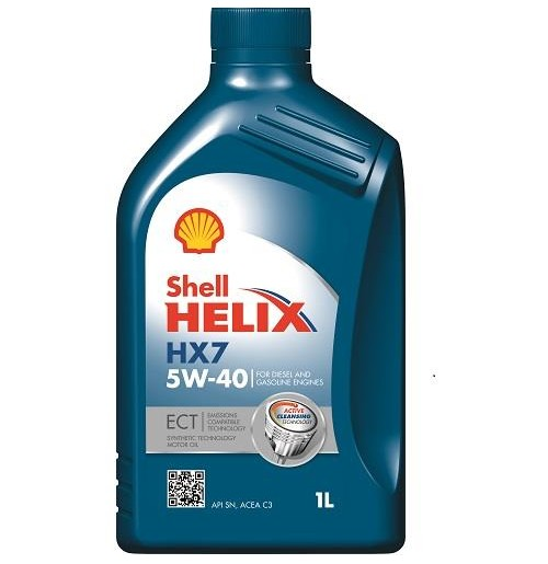 shell helix hx7 ect 5w 40 1l oryginalne oleje i smary shell. Black Bedroom Furniture Sets. Home Design Ideas